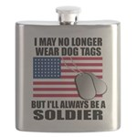 I may no longer wear dog tags... Flask