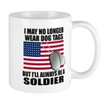 I may no longer wear dog tags... Mug