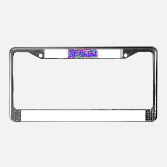 Teh Kortet Logo License Plate Frame