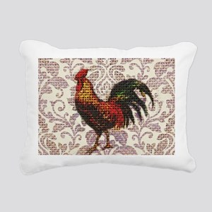 french country vintage r Rectangular Canvas Pillow