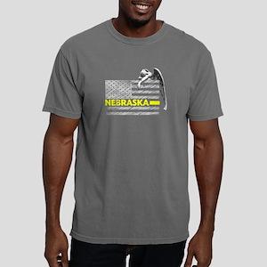 Nebraska Police Dispatcher Flag Gifts Shir T-Shirt