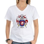 Jaime Family Crest Women's V-Neck T-Shirt