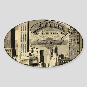 Vintage USA New York Sticker