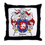 Jaime Family Crest Throw Pillow