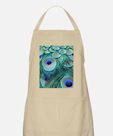 Bountiful Peafowl Feathers Apron