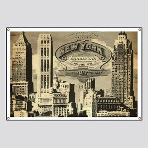 Vintage USA New York Banner