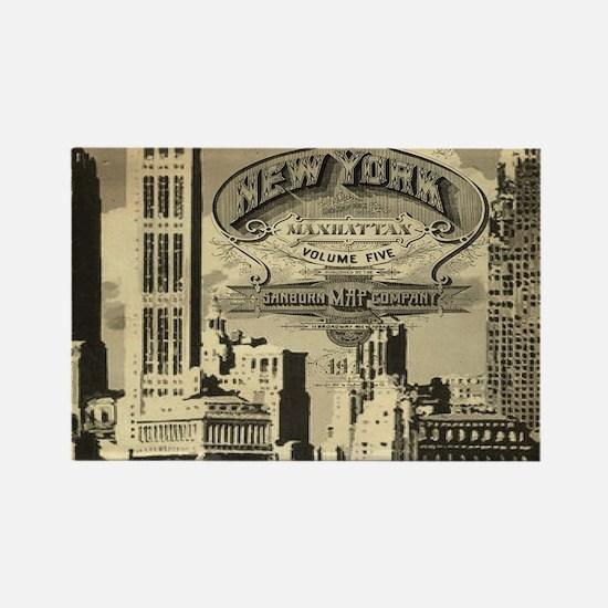 Vintage USA New York Magnets