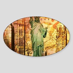 cool statue of liberty Sticker