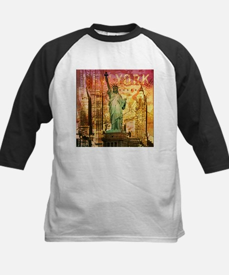 cool statue of liberty Baseball Jersey
