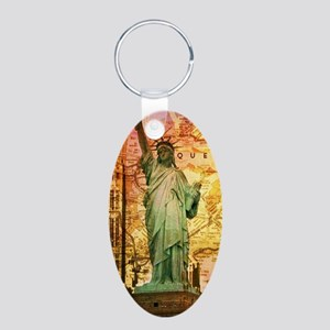 cool statue of liberty Keychains