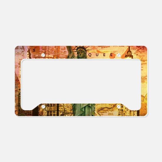 New York Statue of Liberty License Plate Holder