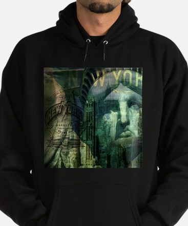 cool statue of liberty Hoodie (dark)