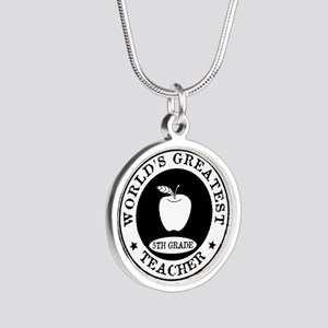 World's Greatest 5th Grade Teacher Necklaces