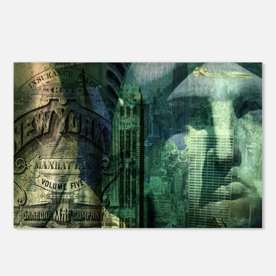 Statue of Liberty new yor Postcards (Package of 8)