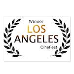 LA CineFest Winner Postcards (Package of 8)