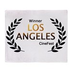 LA CineFest Winner Throw Blanket