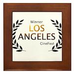 LA CineFest Winner Framed Tile