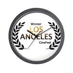 LA CineFest Winner Wall Clock