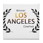 LA CineFest Winner Tile Coaster