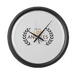 LA CineFest Winner Large Wall Clock