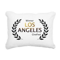 LA CineFest Winner Rectangular Canvas Pillow