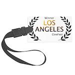 LA CineFest Winner Luggage Tag