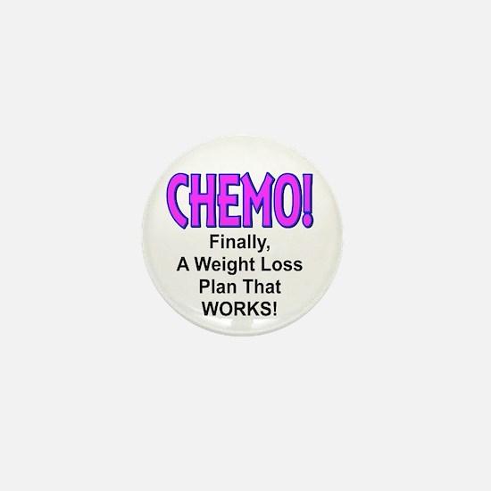 Chemo Weight Loss Mini Button