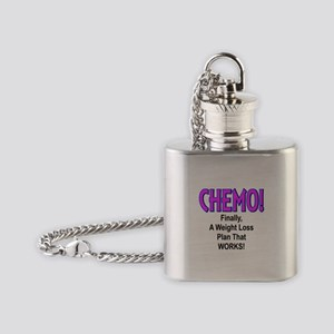 CHEMO Weight Loss Flask Necklace