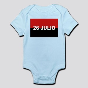M-26-7 Flag - Bandera del Movimiento 26 Body Suit