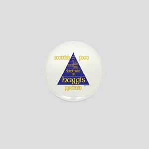 Scottish Food Pyramid Mini Button