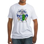 Isla Family Crest Fitted T-Shirt