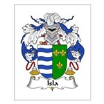 Isla Family Crest Small Poster