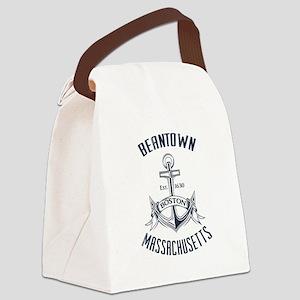 Beantown, Boston MA Canvas Lunch Bag