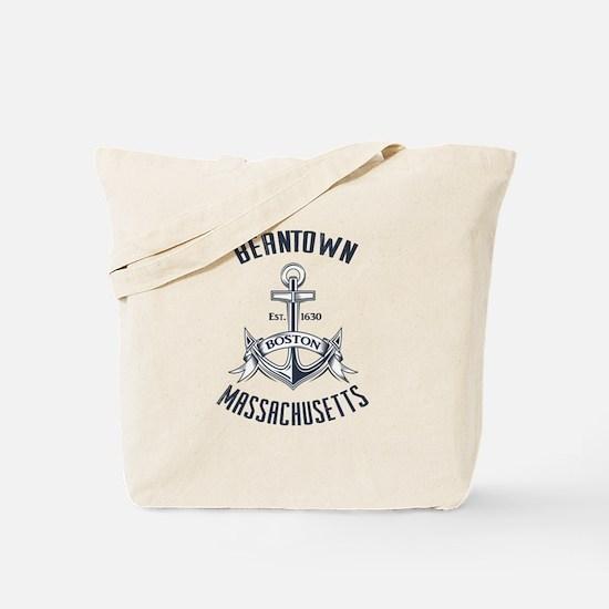 Beantown, Boston MA Tote Bag