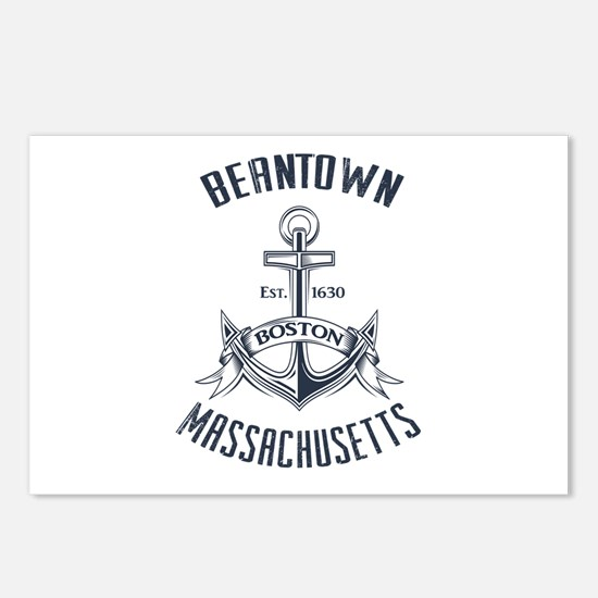 Beantown, Boston MA Postcards (Package of 8)