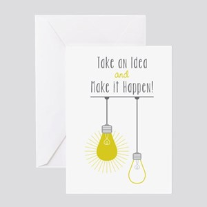 Make It Happen Greeting Cards
