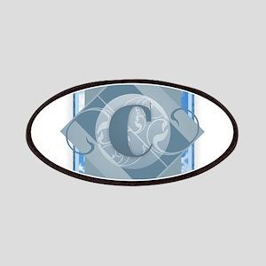 C Monogram - Letter C - Blue Patch