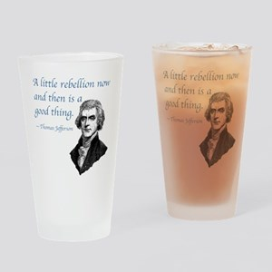 PRES03 LITTLE REBELLION Drinking Glass