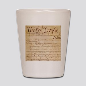 US CONSTITUTION Shot Glass