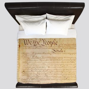 US CONSTITUTION King Duvet