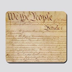US CONSTITUTION Mousepad