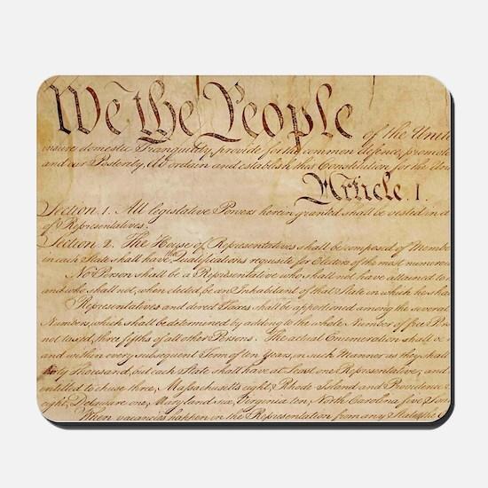 US CONSTITUTION Mousepad