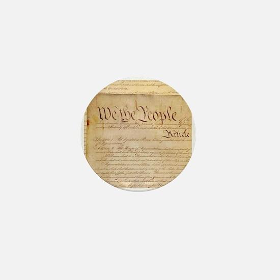 US CONSTITUTION Mini Button