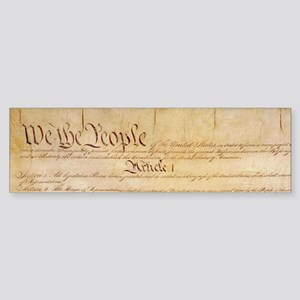 US CONSTITUTION Bumper Sticker