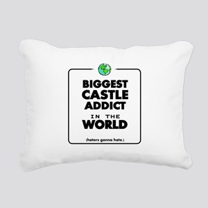 Biggest Castle Addict Rectangular Canvas Pillow