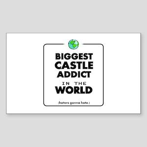 Biggest Castle Addict Sticker