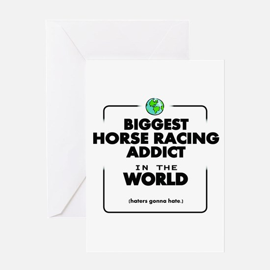 Biggest Horse Racing Addict in the Greeting Cards