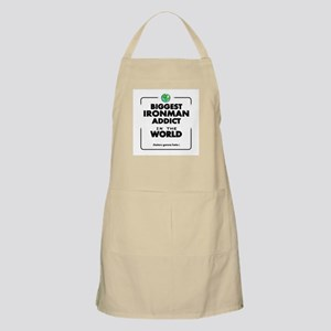 Biggest Ironman Addict in the World Apron