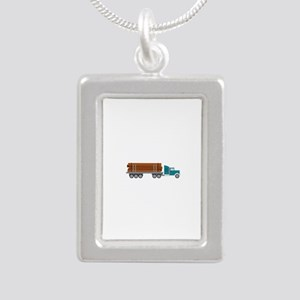 Semi Log Truck Necklaces