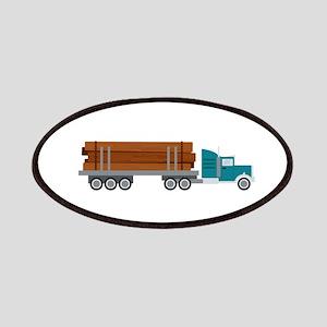 Semi Log Truck Patch